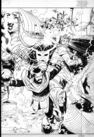 tales of asgard 5 cover by MarkMorales