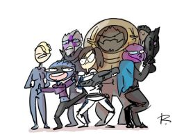 Mass Effect: Andromeda, 22 by Ayej