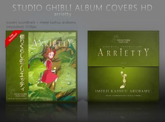 Special Arrietty Album Covers HD by shinobireverse