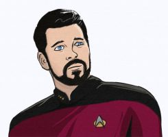 Commander William T. Riker by Russell-LeCroy