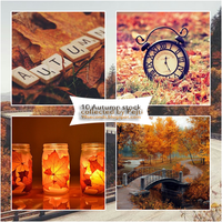 (3) Stock Pack - Autumn by CatchMeBabyy