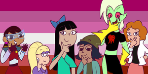Lesbian Pride: Disney xd by IWantToBrowsefuckyou