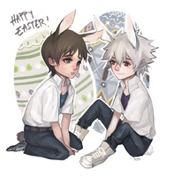 Happy Easter by Xoue