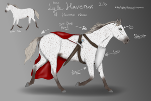 Prince Lyle Haverick (Stubborn Blood) Ref by NorthernMyth