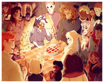 birthday at the rebellion by Myebi