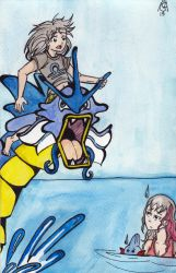 Ian and the Gyarados by SexyMegaAwesomeHot