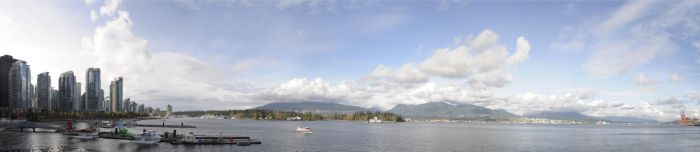 Panorama: Vancouver No1 by Aelonath