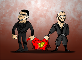 Kneel before Zods by Miguelhan