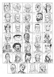 Heads 681-714 by one-thousand-heads