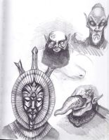 Morrowind Sketches by Morcath