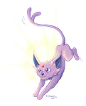 Espeon used Morning Sun! by Kosmotiel