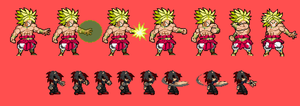 (Simple)Conversion Tryout: Broly by pokeczarelf