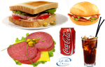 Sandwiches and refreshments - PNG by lifeblue