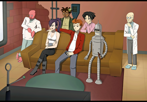 Back to the Futurama by sherbertKISSES