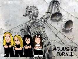 Metallica-And Justice for All by roelworks