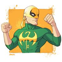 The Immortal Iron Fist by D-MAC