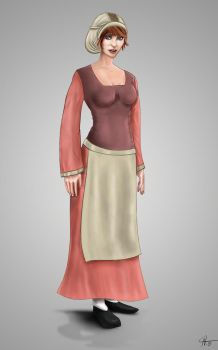 14th Century Woman by rotsentu