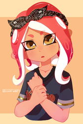 Welcome agent 8! by JuulieWoof