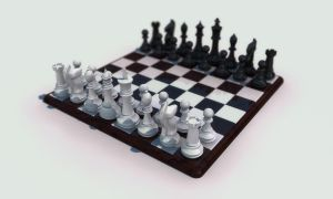 3D Chess Board by undeathspawn