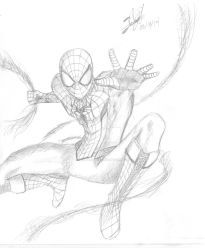 My old Spider-Man design by JohnnyNoise