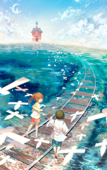 Spirited Away - Return by Pinlin