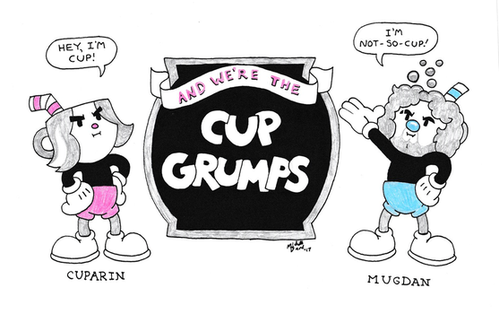 The Cup Grumps by ToonSkribblez