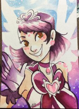 [ACEO] Coral Durumi by stellarknight3
