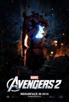 Teaser Poster Provisional THE AVENGERS 2 by jphomeentertainment