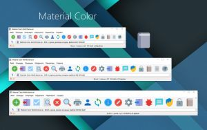 Material Color WinRAR theme by alexgal23