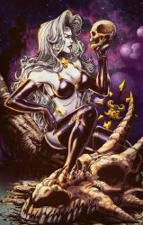 Lady Death colors by nahp75