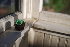 Mint Cupcake by frankworthstopple