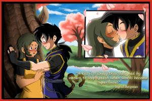 First Kiss_Contest Entry by Palmtop-Peanut