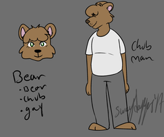 Bear Ref by swagdoggos