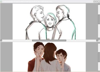 [WIP] mother's day angst with drake brothers by shotajean