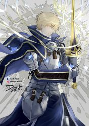 Prototype Saber: Arthur Pendragon Oath of Knight by darkn2ght