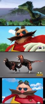 Eggman loves accuracy. by william023