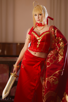 Fate/Extra - Nero colosseum 3 by KiaraBerry