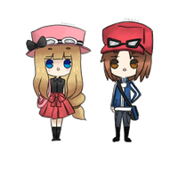 Pkm X and Y by pikaira