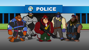 The Beasts - Enforcers by FantasyFlixArt