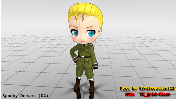 [MMD AxisPowers Hetalia] Germany ver1.00 DL by lenkalovetrue