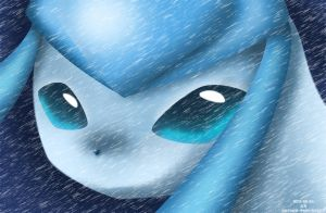 Glaceon by KairouZ