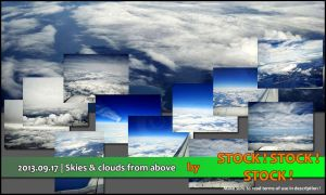 2013.09.17 | Skies and clouds from above by Stock-Stock-Stock