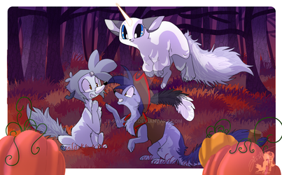 Halloween - Creep Day by JB-Pawstep