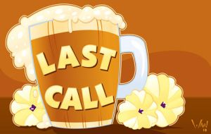 Last Call for Alcohol by WarBrown