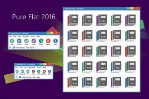 Pure Flat 2016 7-Zip theme by alexgal23