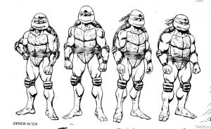 TMNT SCALE ink by dogmeatsausage