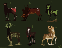 Koun adopts 15 [Color Themed] by Immonia