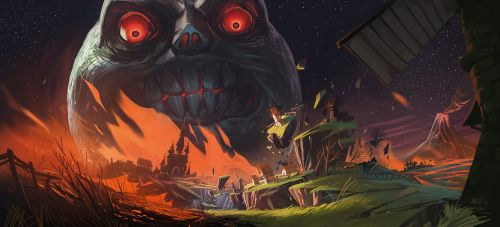 Majora's Moon by VincentBisschop