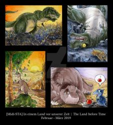 The Land before Time - ATC by Merinid-DE