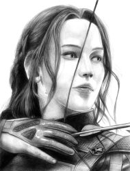 Katniss (Mockingjay) by SoulStryder210